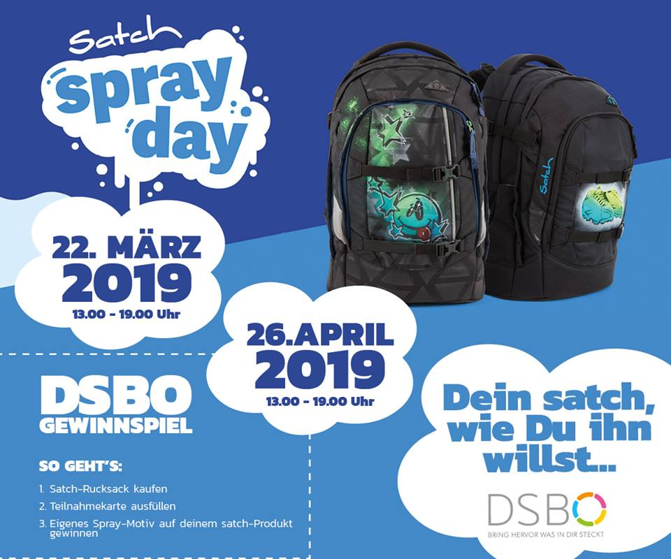 Satch SprayDay in der DSBO